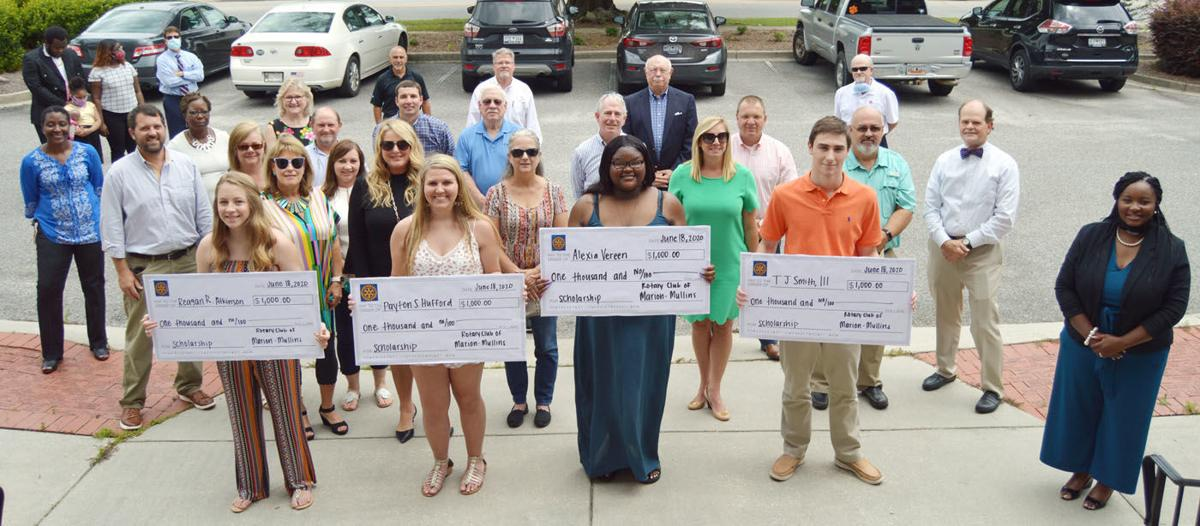 Marion-Mullins Rotary Club awards scholarships to Marion County students