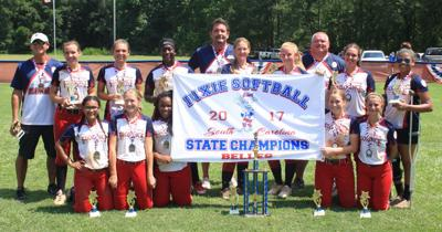 Florence Belles Dixie Youth Softball team aim for World Series title