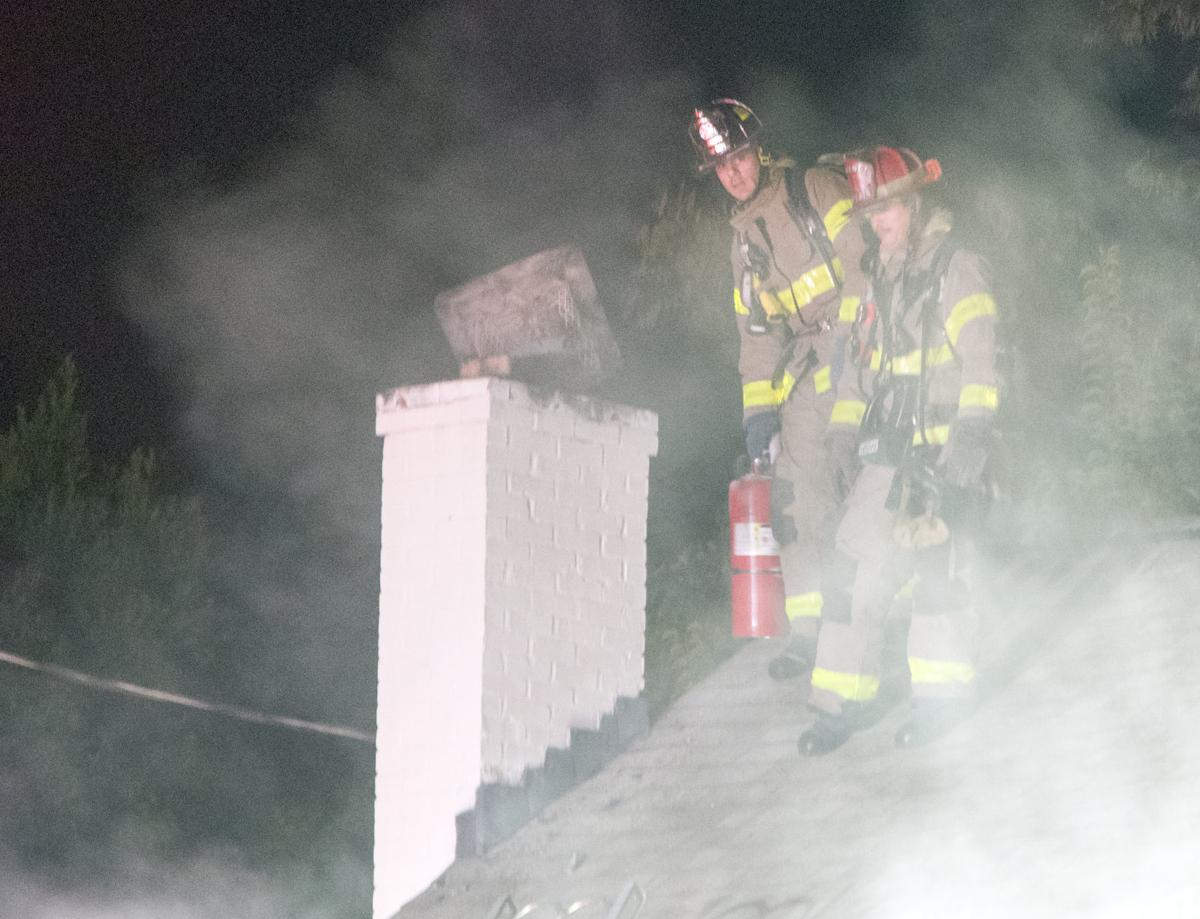 Florence Chimney Fire