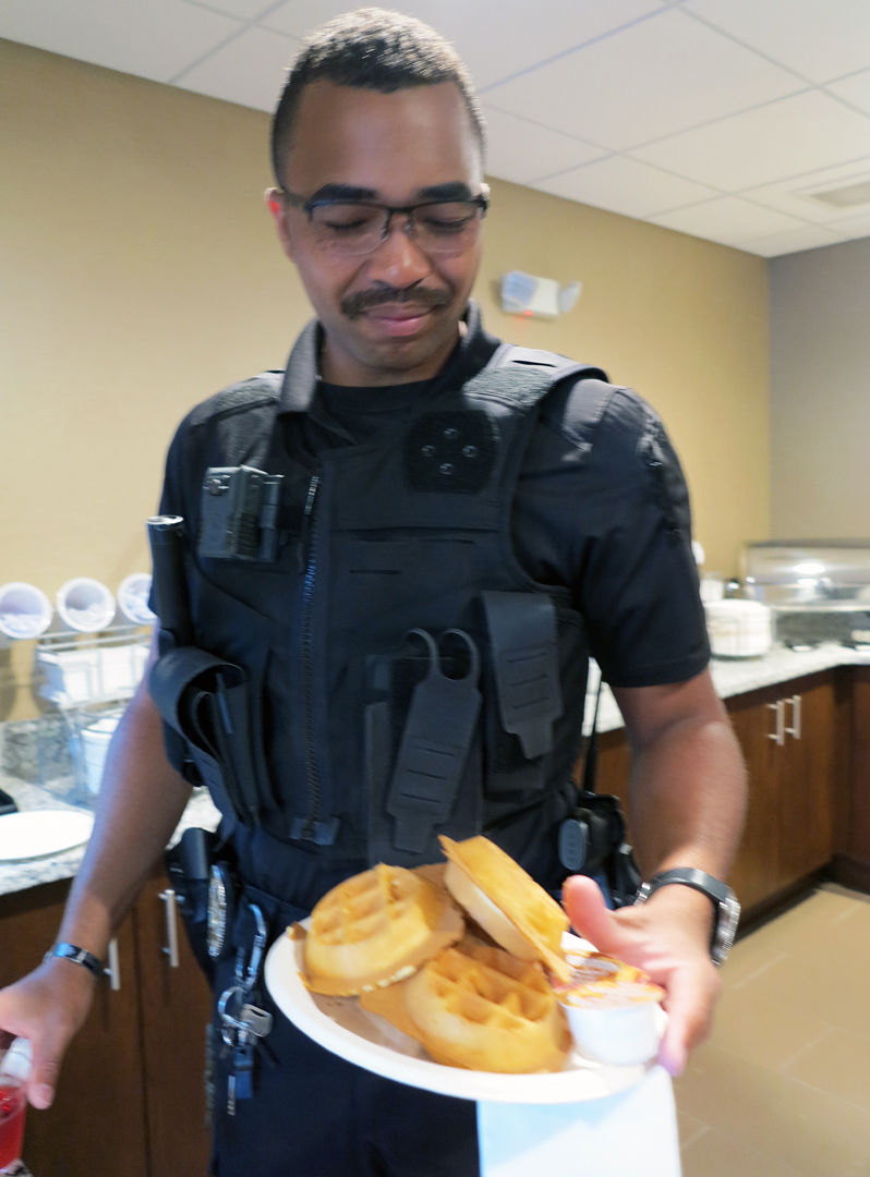 0823 First Responders Waffle Day 2