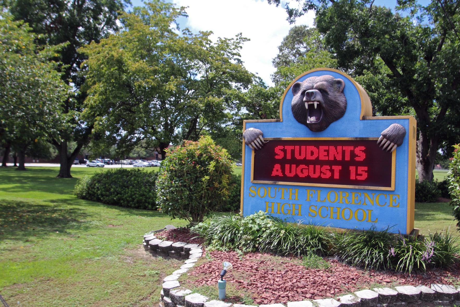 high school resume%0A South Florence High School