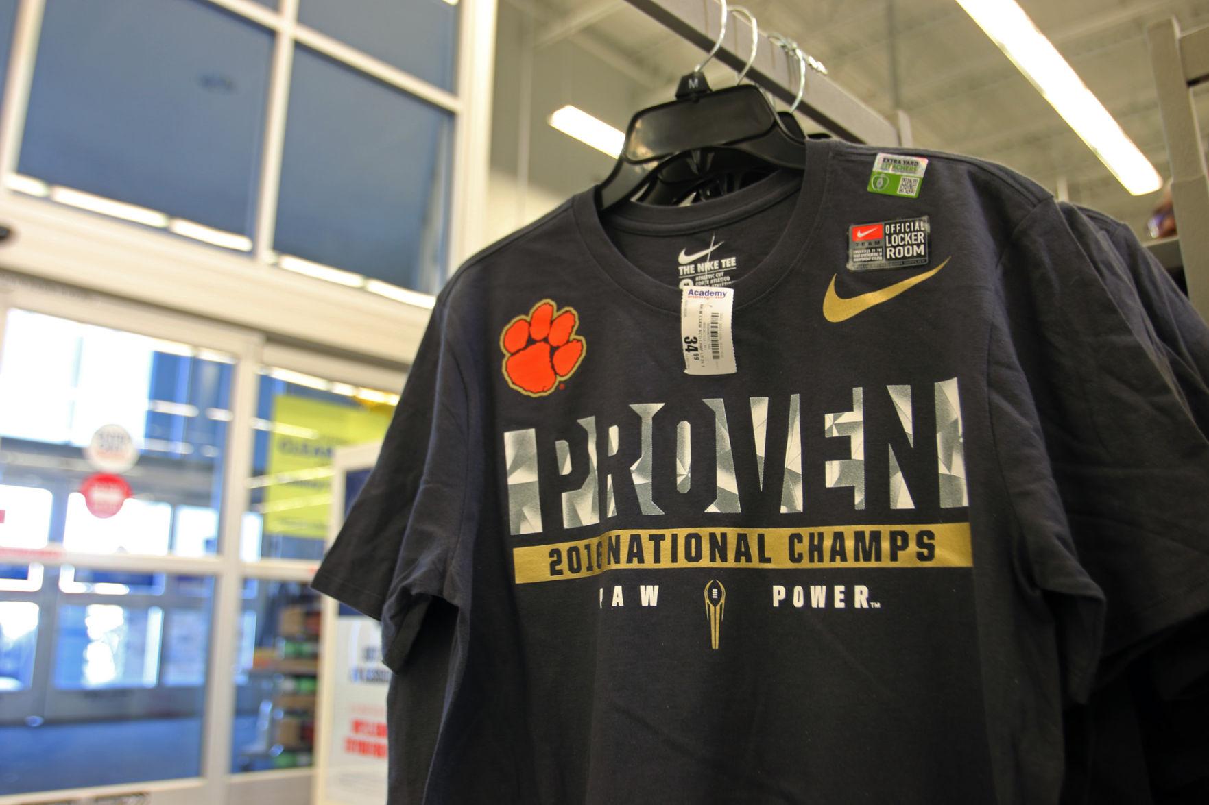 clemson championship jersey