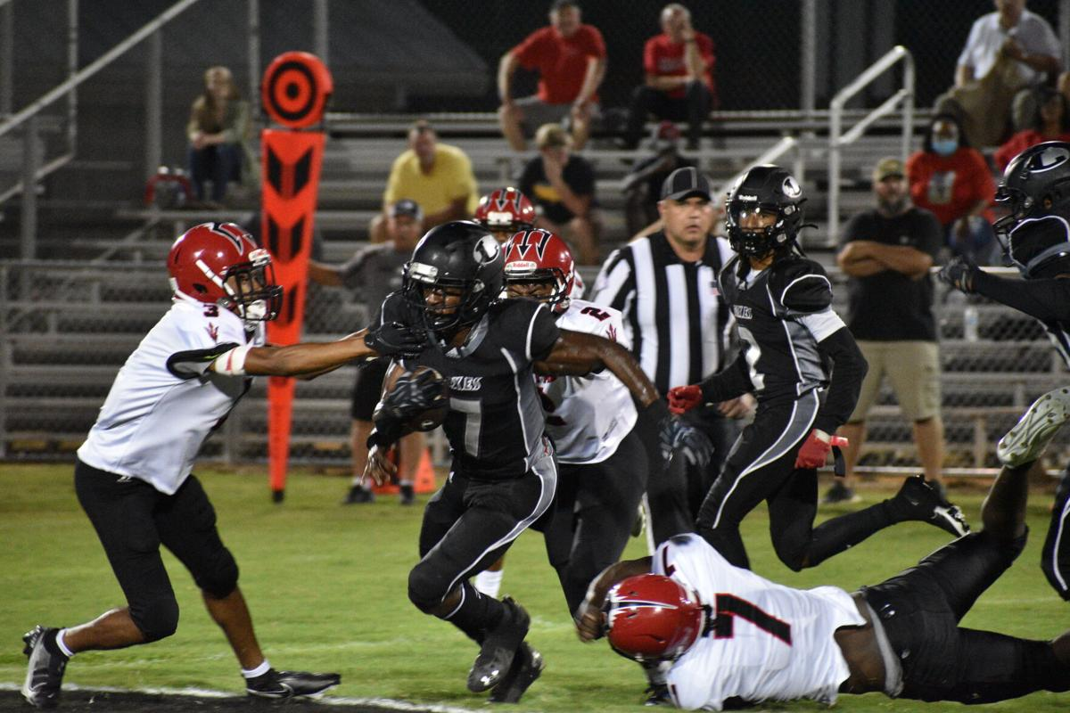 Lamar vs. Great Falls Football