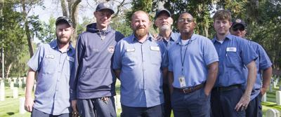 Florence National Cemetery Crew