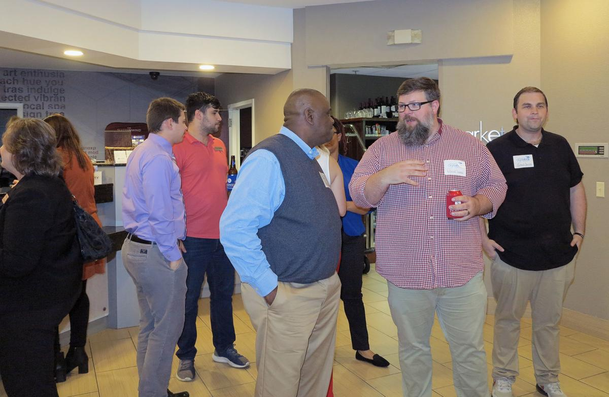 Florence Chamber Business After Hours held at SpringHill Suites