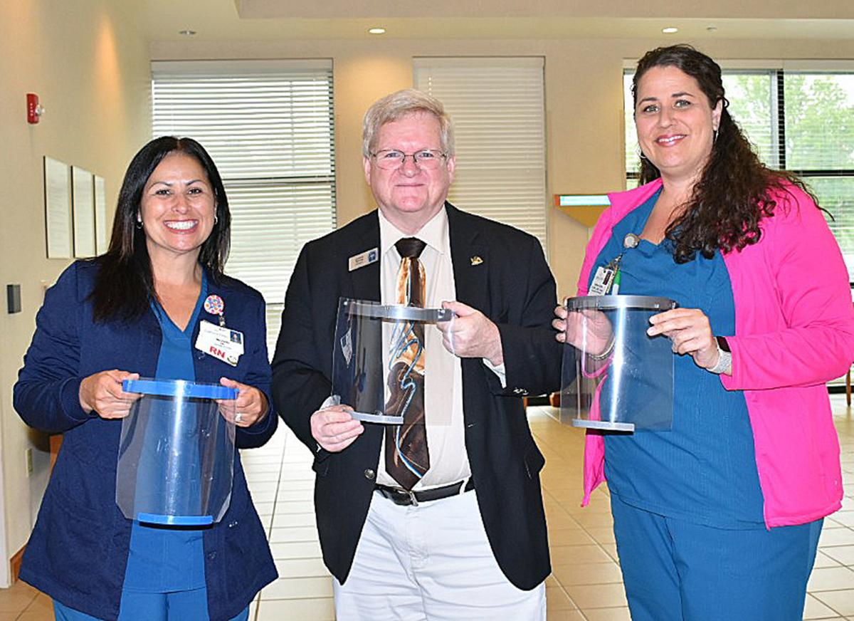 Darlington County Library System donates face shields to Carolina Pines