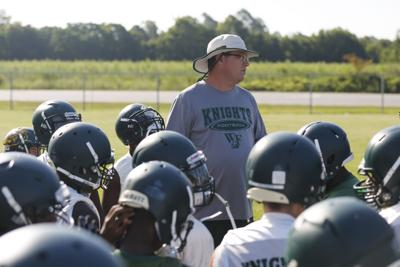 West Florence Football Practice