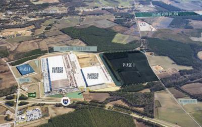 AerialSpeculative logistics center coming near Dillon Inland Port
