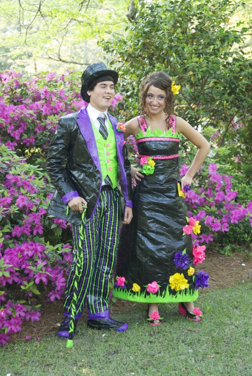 Florence teen competes in duct tape prom dress contest | Local News ...