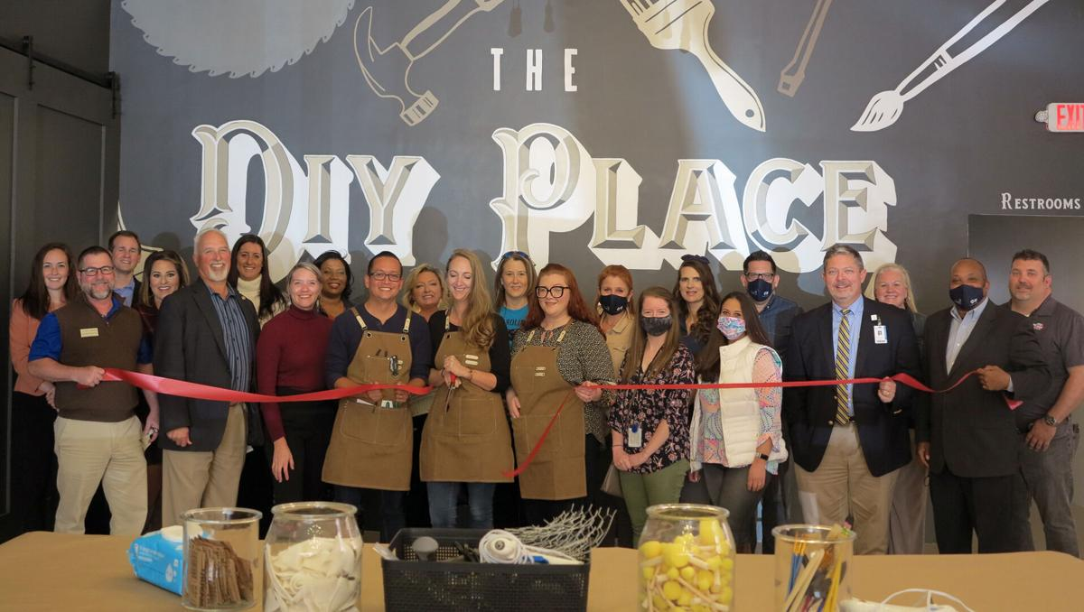 The DIY Place in downtown Florence holds ribbon cutting