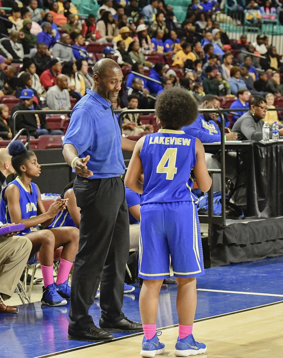 Larry Inman 2019 girls hoops coach of year