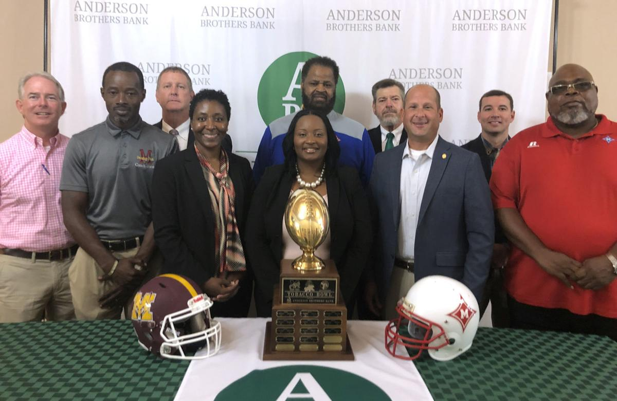 Anderson Brothers Bank hosts pregame gathering ahead of annual Tobacco Bowl