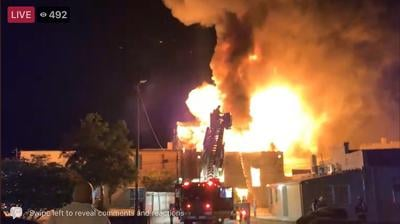 Downtown Darlington Fire