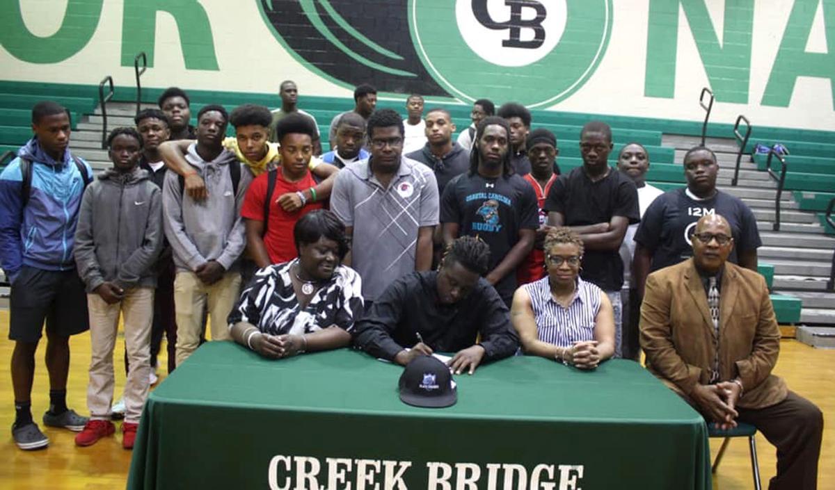 Creek Bridge football's Hellom announces signing