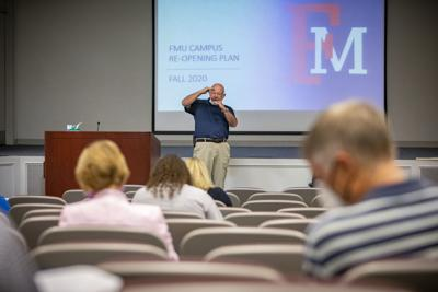 FMU administration, faculty meet to plan for return to campus