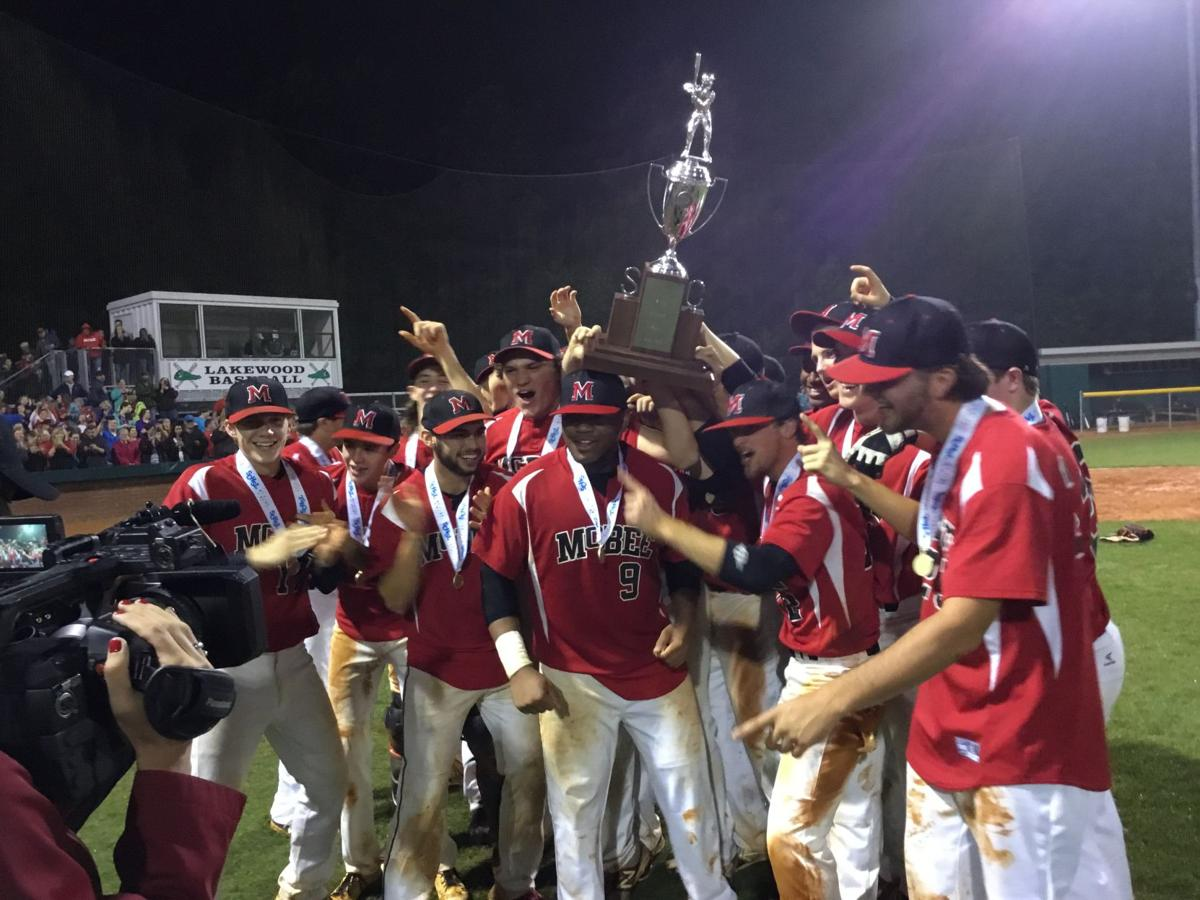 Mcbee Baseball Wins First State Title Since 1981 Sports