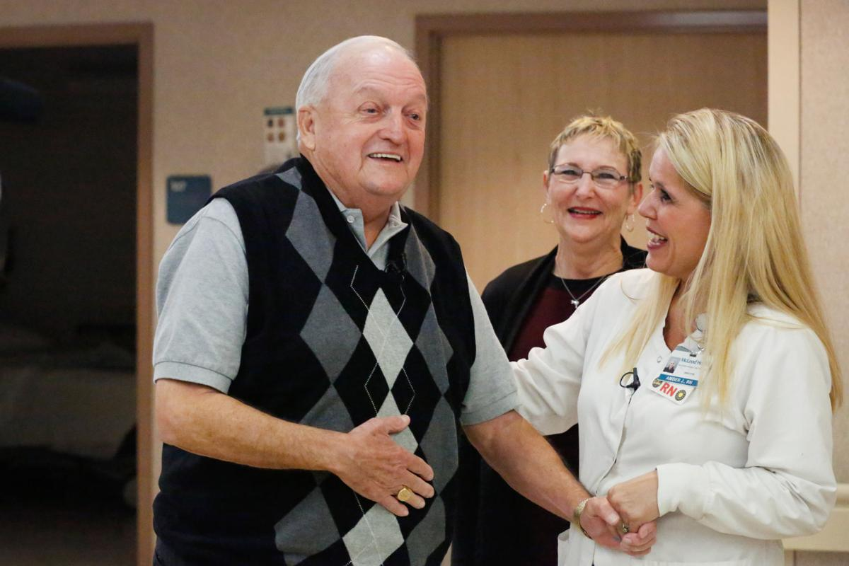 Patient and Staff Reunited at McLeod Regional Medical Center