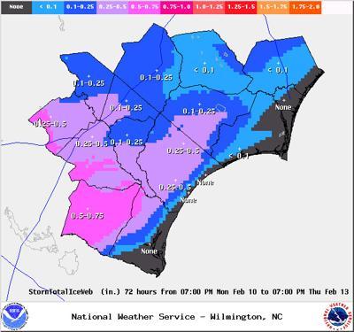 Freezing Rain-Ice Accumulation Forecast