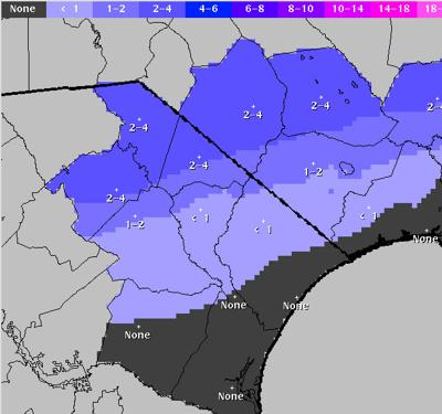 Snow-Sleet Accumulation Forecast