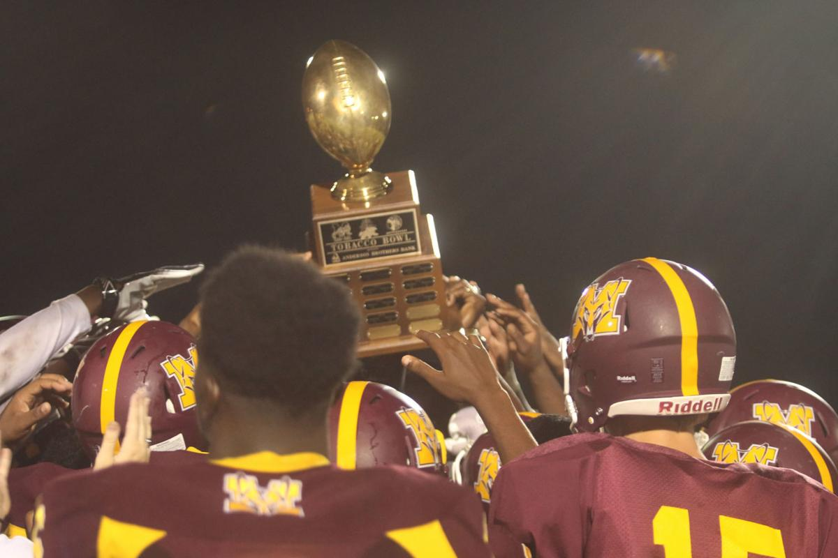 Marion reclaims annual Anderson Brothers Bowl trophy 7-6 over Mullins