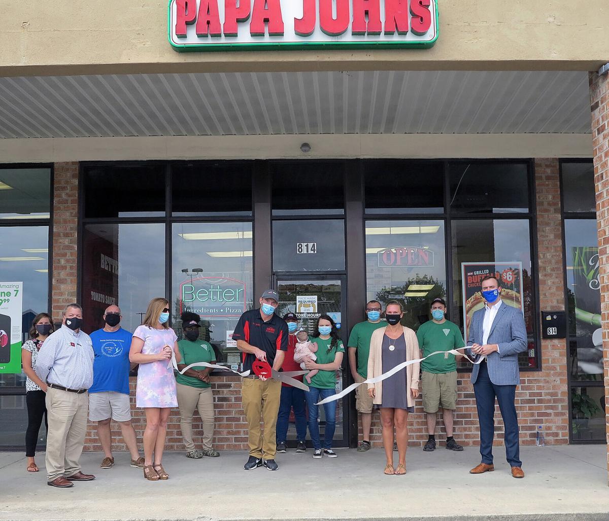 Papa John's reopens in Hartsville
