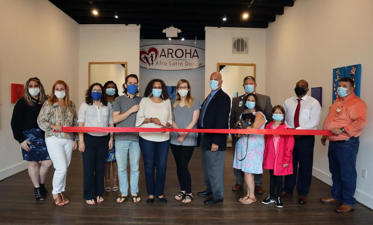 AROHA celebrates opening its new studio in downtown Florence with ribbon cutting