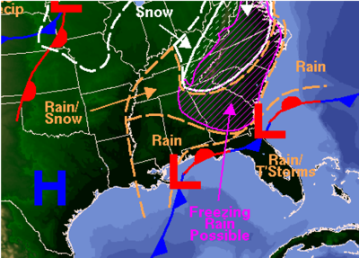 Wednesday storm progress