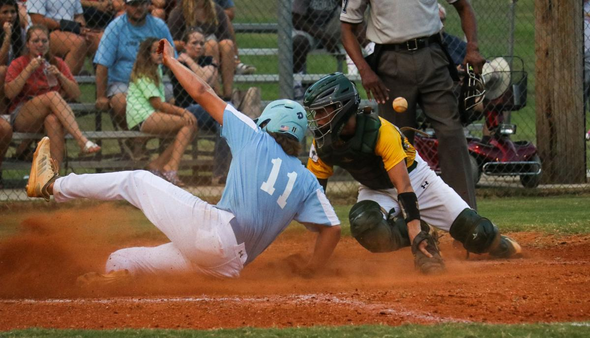 West Florence Gold vs. South Florence Blue, Jr. Legion baseball
