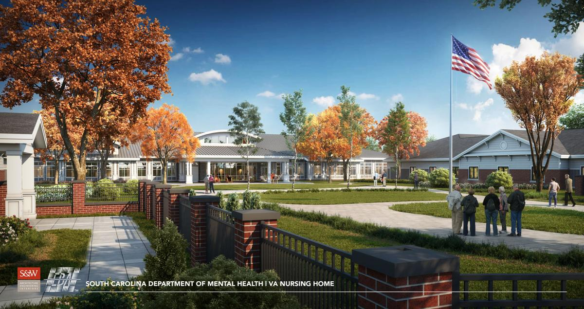 Florence VA nursing home rendering