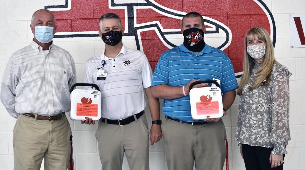 Carolina Pines Regional Medical Center donates AEDs to seven area schools