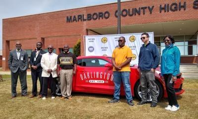 Color Guard at Marlboro County High School