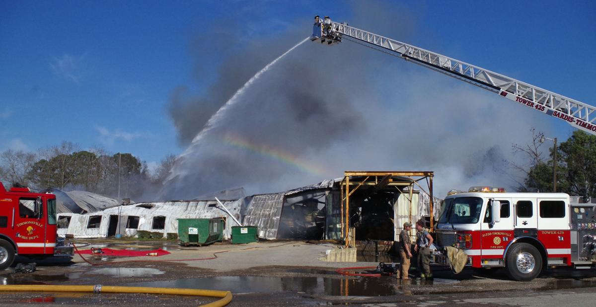 Fire destroys Timmonsville building Tuesday afternoon | News