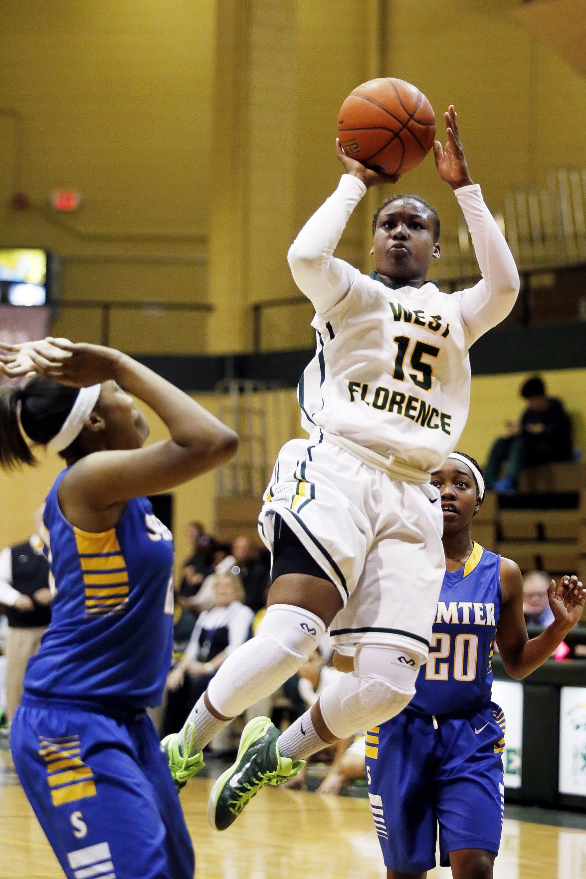 Sumter handles West Florence girls in matchup of top-ranked teams