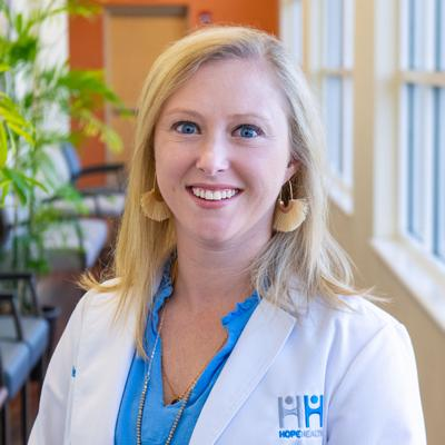 HopeHealth Family Nurse Practitioner, Meagan Bennett