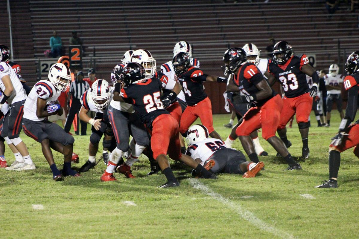 HHS vs Cheraw FB