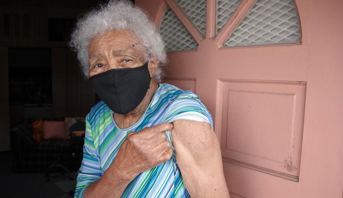 Vaccinated 102 Year Old