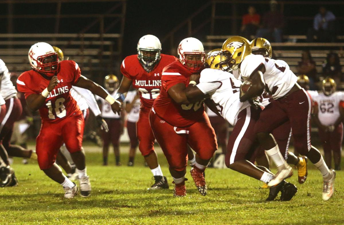 Mullins vs. CE Murray Football
