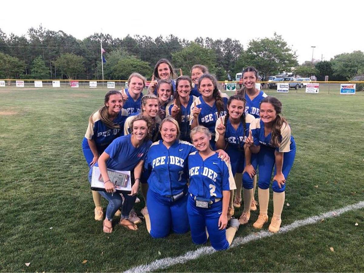 Pee Dee Academy baseball, softball wins region titles