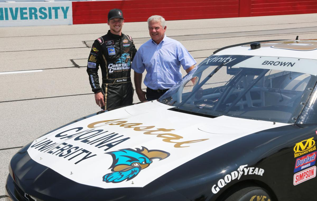 Brown, Coastal Carolina honor Terry Labonte with throwback