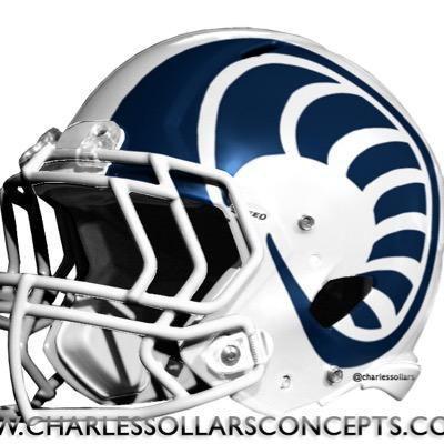 Chesterfield Rams helmet