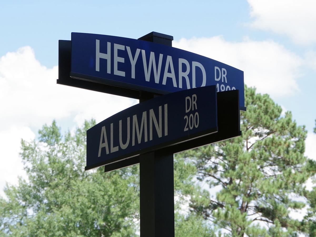 FMU renames road to honor Heyward for selfless service