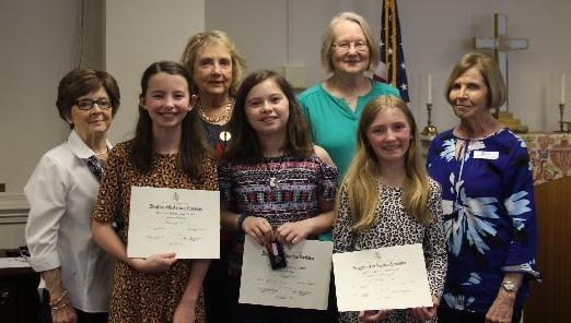 Fifth-grade essay winners