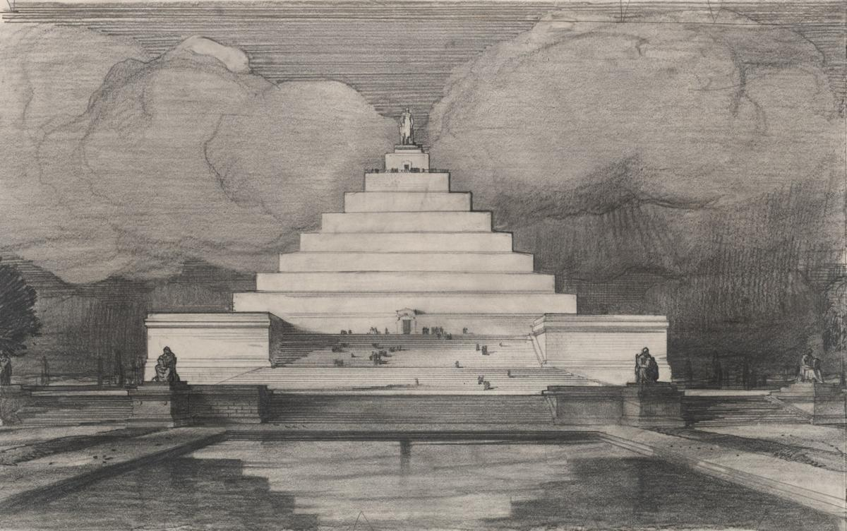 The Lincoln Memorial as a pyramid? That wasn't the craziest idea pitched a century ago.