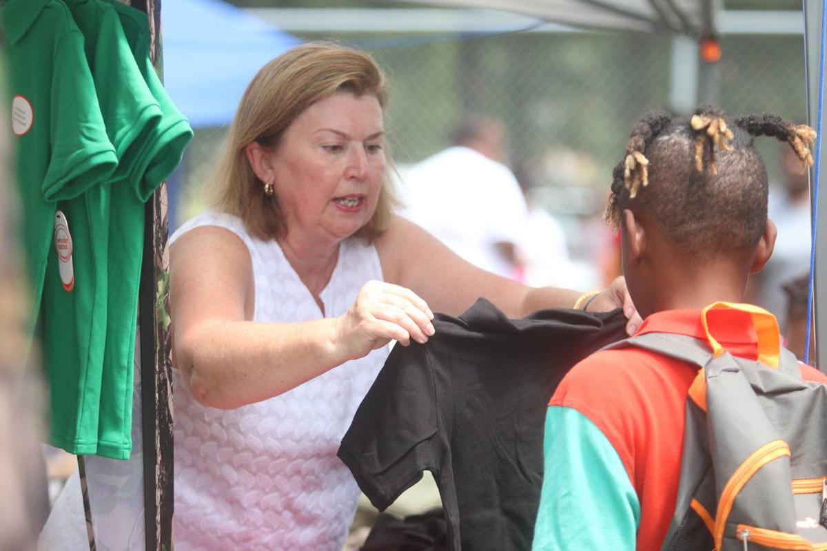 Baldwin's 20th annual back-to-school supplies continues to grow