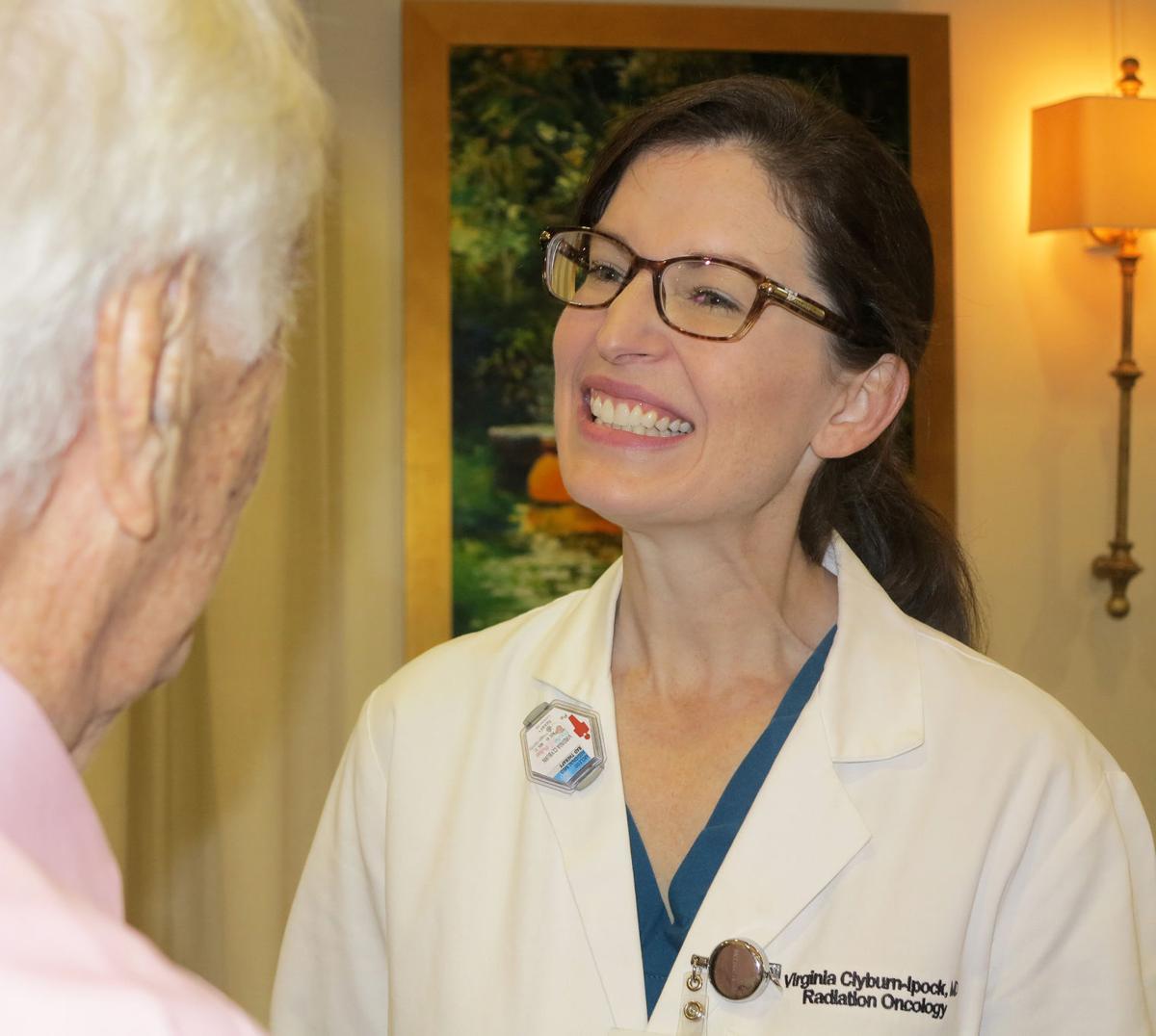 Dr. Virginia Clyburn-Ipock speaks to Rotarians