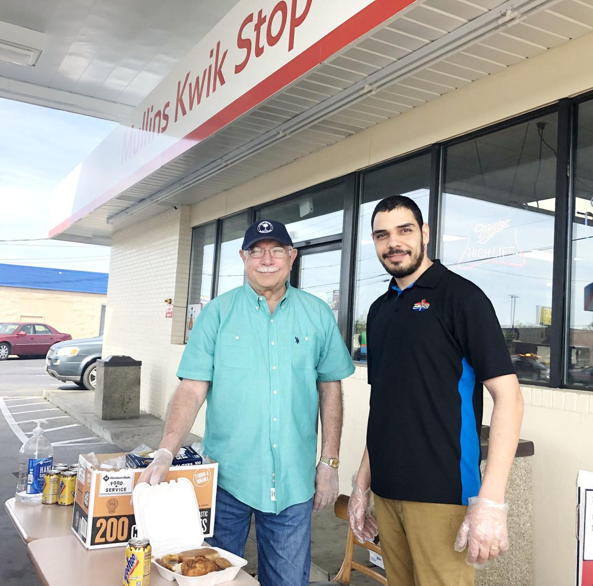 Local restaurants are transitioning from dine-in to carry-out orders