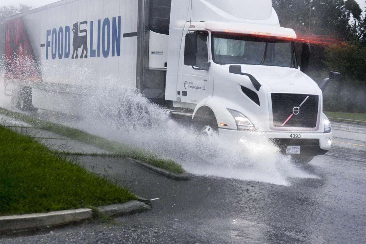 Heavy Rains Cause Light Flooding