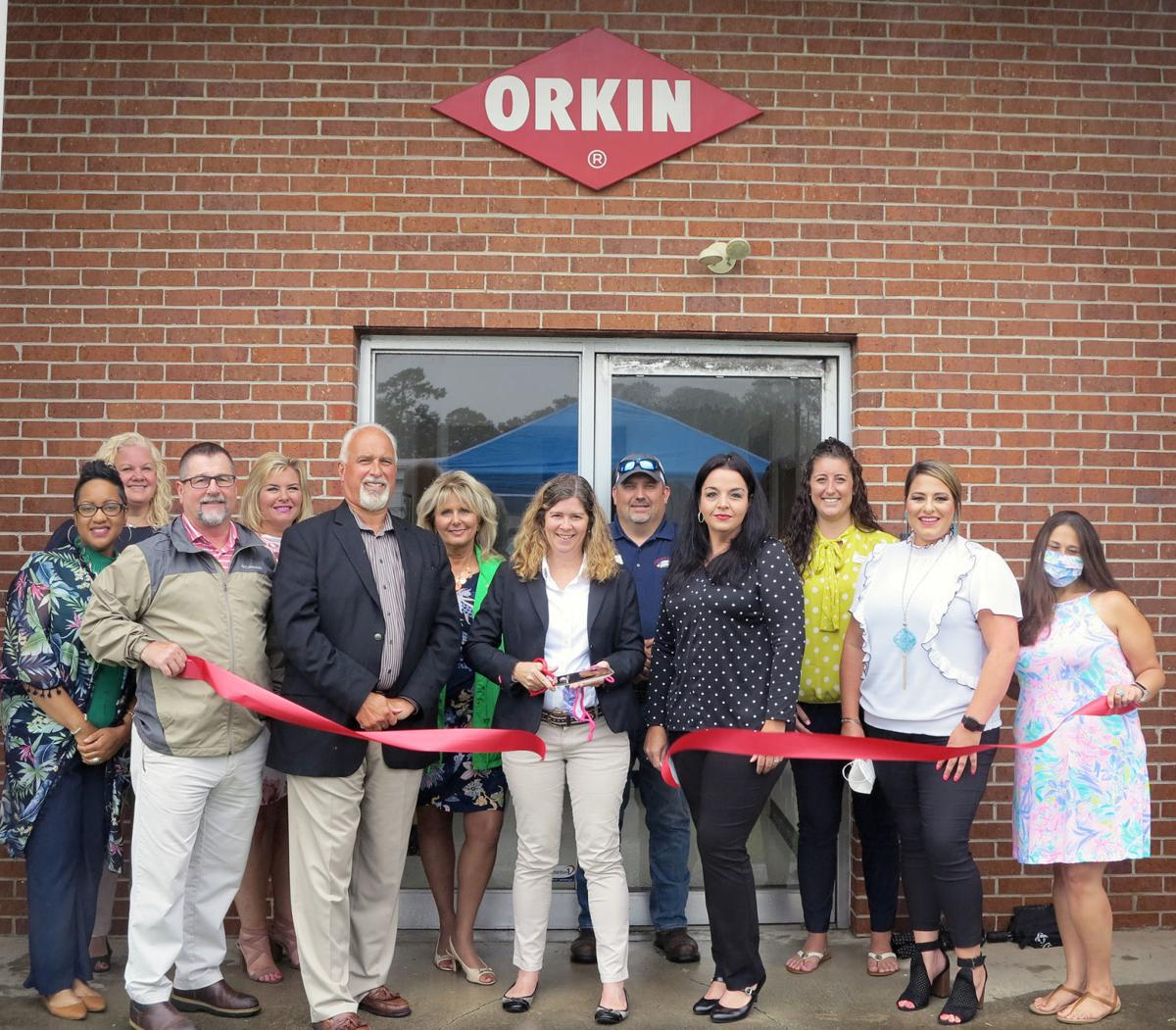 Orkin joins Florence chamber and celebrates with ribbon cutting