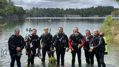 Diver rescued