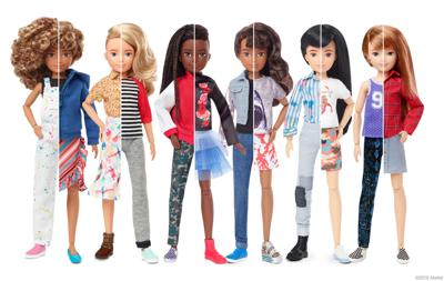 Mattel helped define gender norms with Barbie and Ken. Now it's defying them with 'gender inclusive' dolls.